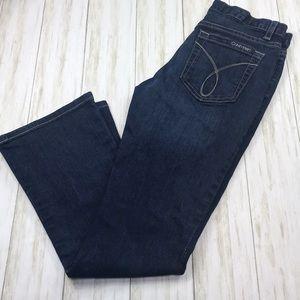 Calvin Klein Flare Jeans Size 2